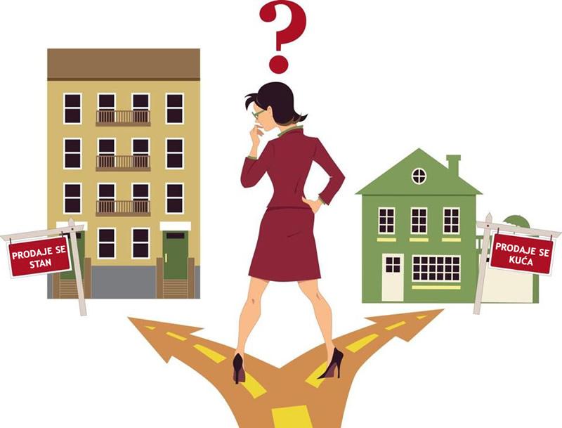 Što je bolje kupiti: kuću ili stan?