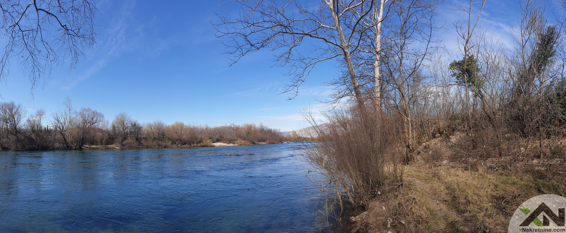 Zemljište uz rijeku neretvu